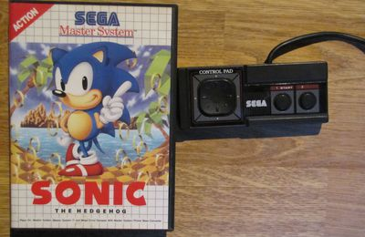 Achat : Manette et Sonic the Hedgehog (Master System2)