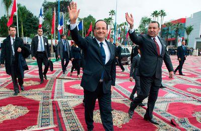 La venue de François Hollande au Maroc