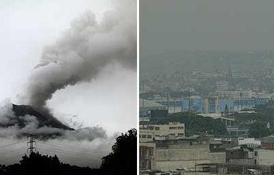 L'éruption du volcan Tungurahua