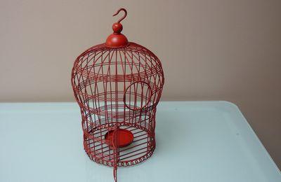 Cage à oiseau...