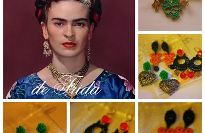 """ Atelier Cores de Frida "" : des bijoux made in Portugal..."