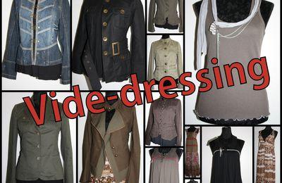 Vide-dressing : robes longues, vestes Zara et Ikks, tops Cop Copine...