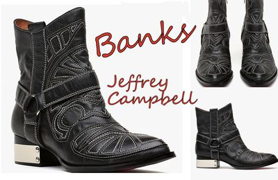 Banks by Jeffrey Campbell ( boots western like Isabel Marant )...