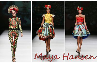 Fashion Week in Madrid : Maya Hansen SS 2013 - Frida Kahlo.