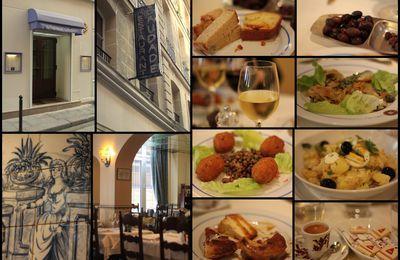 Saudade : restaurant portugais à Paris...