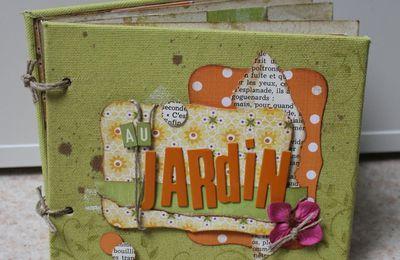 """Mini patouille de Manou """"Au jardin"""""""
