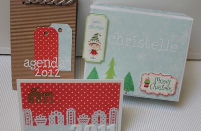 Swap de Noël sur Made In Scrap!! Partie1