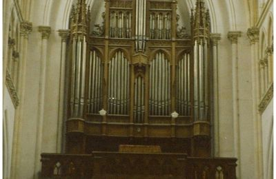 L'ORGUE DE L'EGLISE SAINT JACQUES