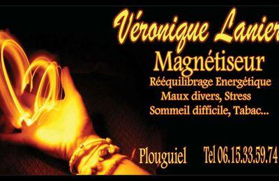 Bretagne : A Plouguiel Veronique Lanier magnétiseur vous soulage de vos douleurs