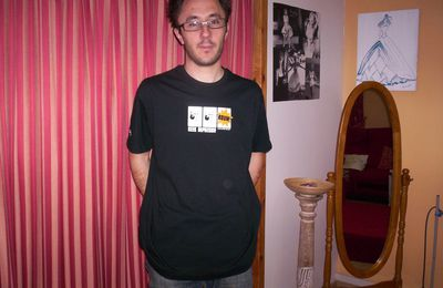 Collection T-Shirt Geek Davy Mourier