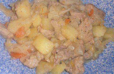 Potée de légumes au porc