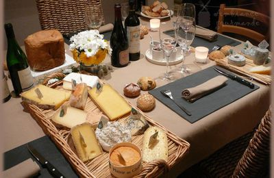 "Ambiance gourmande ""Dégustation fromages"""