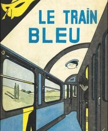 Le train bleu d'Agatha Christie