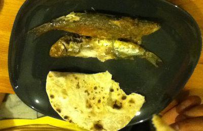 Sardines aux épices / mathi vattichathu