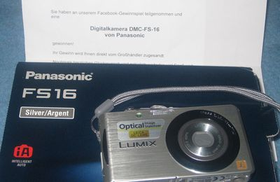 Panasonic Digitalkamera bei TVdirekt gewonnen