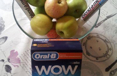 Kraftvoll zubeißen mit blend-a-med und Oral-B