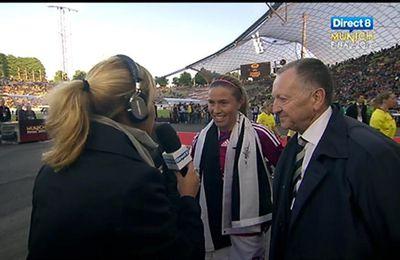 Coup de chapeau aux joueuses de l'OL championnes d'Europe !