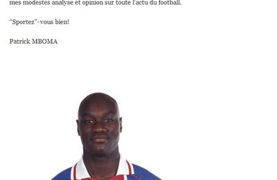 Patrick Mboma, footeux 2.0