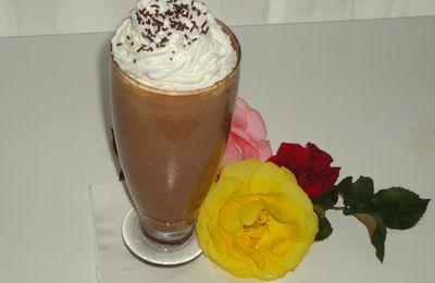 Milk-shake au café et au cacao