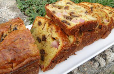 Cake aux morilles