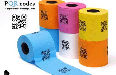 PQR codes, le papier toilette codé