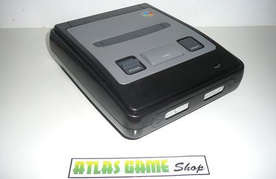 Super Nintendo - Full Black Edition - By Mike