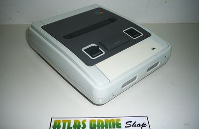 Super Nintendo - Full White Edition - By Mike