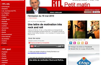"""Leitmotiv"" : Une lettre de motivation... rock n'roll !!"