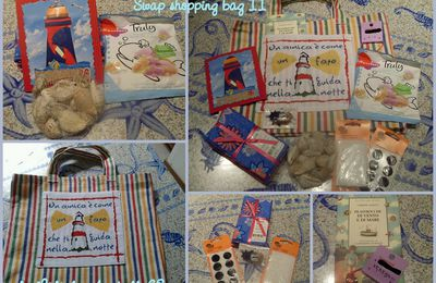 SWAP Shopping bag tema Amicizia