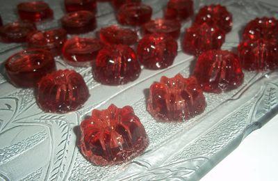 Bonbons gélifiés pour le goûter !!!