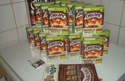 "Test "" CHOCAPIC "" de Nestlé !!!!"