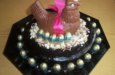 Gâteau de pâques aux chocolat !!