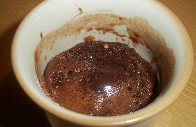 Mug cake au chocolat !!!