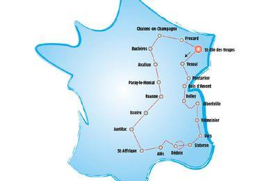 Le Tour cyclotouriste international fait étape demain à Albertville