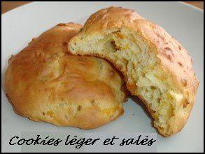Cookies léger salées :