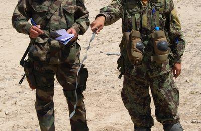 Des militaires du 1er RHP au service de l'armée nationale afghane