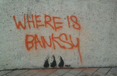 street Art - Bordeaux - Where is Banksy ?! - Cerega
