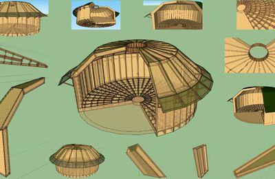 Construisez vos éco-maison ronde en bois