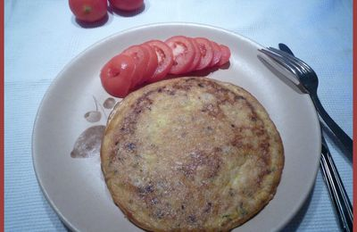 Galette-Omelette au thon