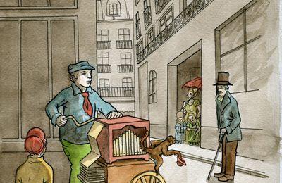 Le joueur d'orgue de barbarie