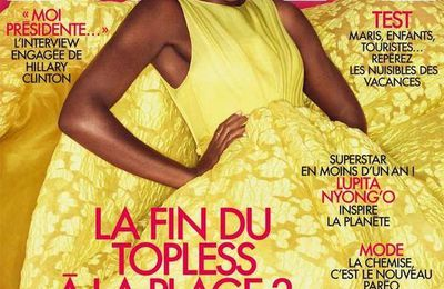 Darker Complexions in the beauty Industry...beauty Norms!?! 2014, Lupita Nyong'o, is featured in Vogue 's & ELLE and cover. And...And Becoming the face of Lancôme!!!