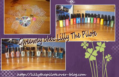 Giveaway chez Lilly the pilote