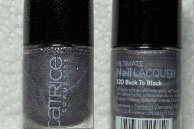 Catrice n°320 - Back to Black