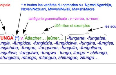 Vocabulaire. Ahmed Chamanga