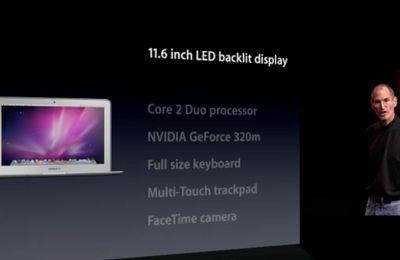 """Deux nouveaux MacBook Air: 13.3"""" et 11.6"""""""