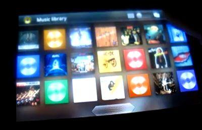 La nouvelle interface de musique pour Android 3.0