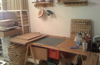 Atelier de formation sur la fabrication de meubles en carton va débuter demain