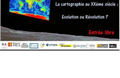 Dessine-moi ma Terre, la cartographie au XXème siècle : évolution ou Révolution ?