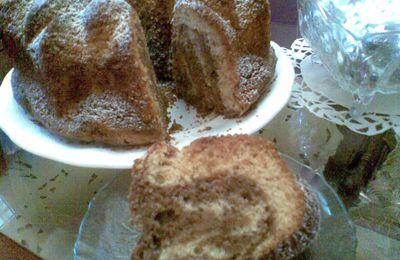 gâteau marbré de houria't almatbakh: photos + vidéos حورية المطبخ :الكعكة الرخامية