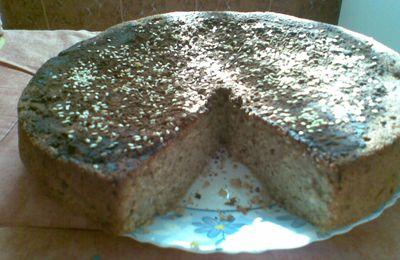 gâteau à la chapelure aux bananes sans farine